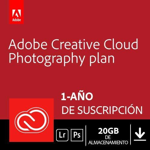 Adobe Creative Cloud Plan Fotográfico