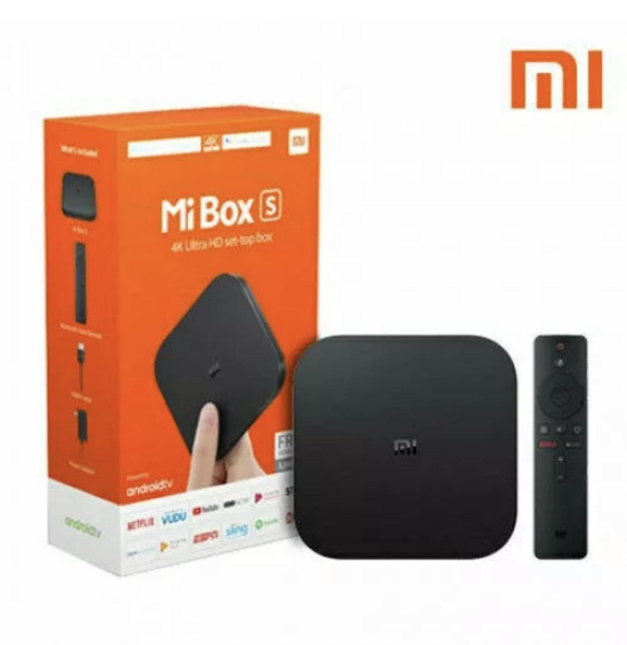 Xiaiomi Mi TV Box S Android 8.1