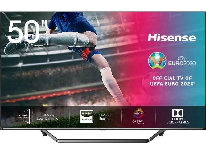 TV HISENSE 50U7QF (ULED Quantum Dot - 50'' - 127 cm - 4K Ultra HD - Smart TV)