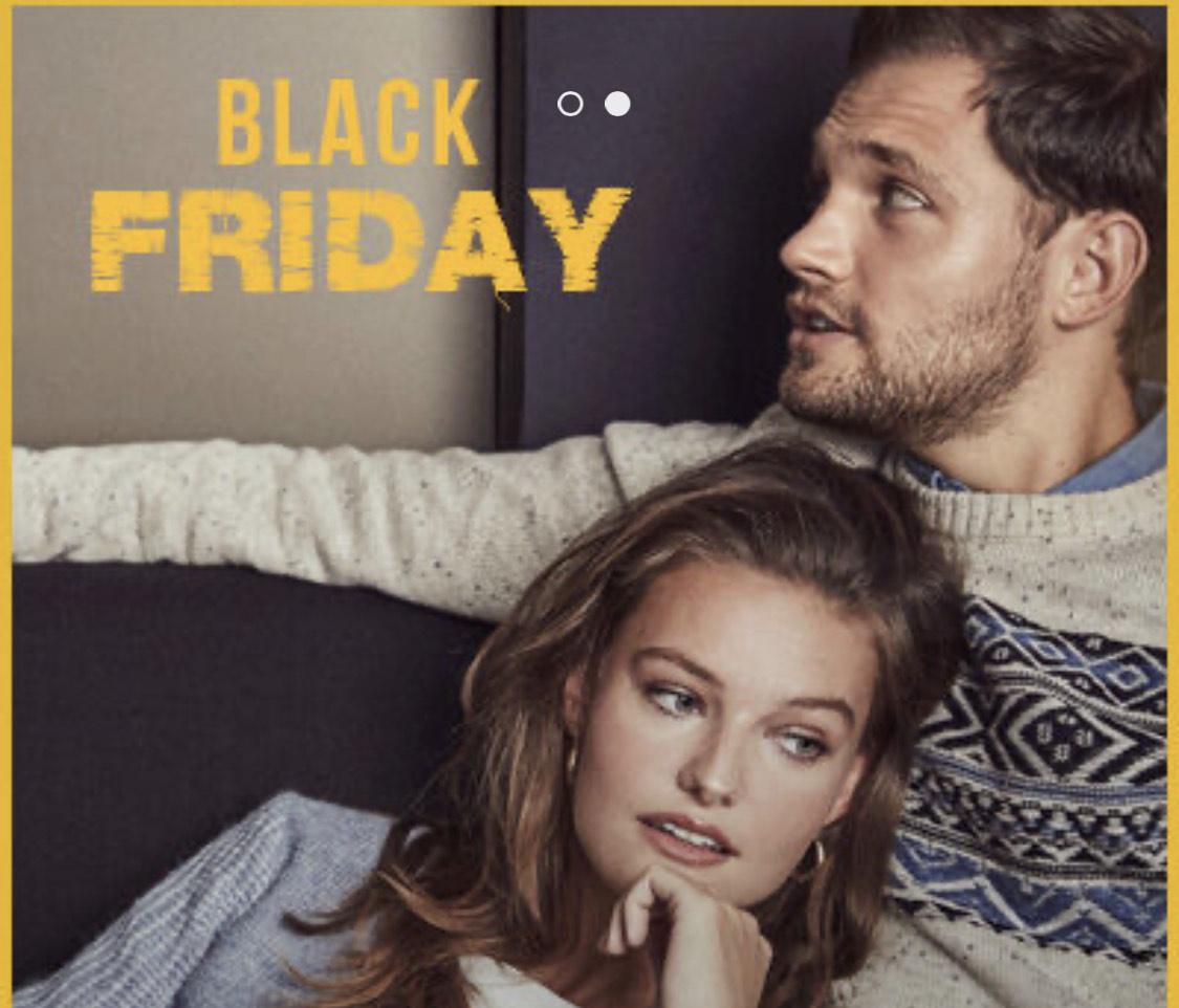 BLACK FRIDAY! TODO -50% y -40% en CORTEFIEL y PdH, -30% en SLOWLOVE, LEVI'S, DOCKERS, UGG y mas