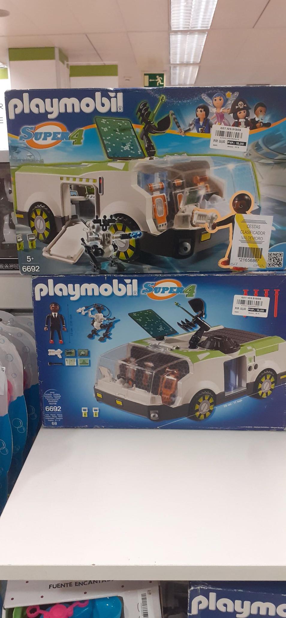 Playmobil con grandes descuentos ECI OUTLET Torremolinos