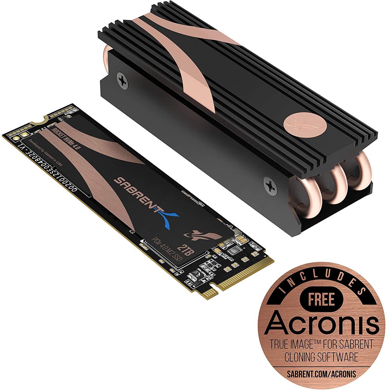 Sabrent Rocket 2TB NVMe PCIe 4.0 + Disipador