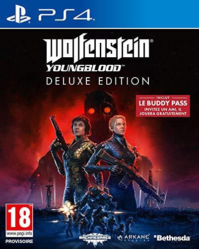 PS4 y PC: Wolfenstein Youngblood - Edición Deluxe (juego físico) por sólo 12,95€