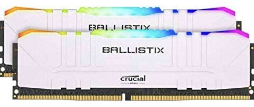 Crucial Ballistix RGB 3200 MHz 2x8GB CL16
