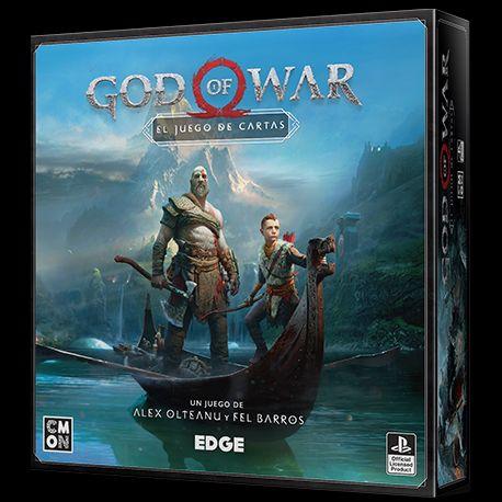 God of war. El juego de cartas . Juego de mesa.