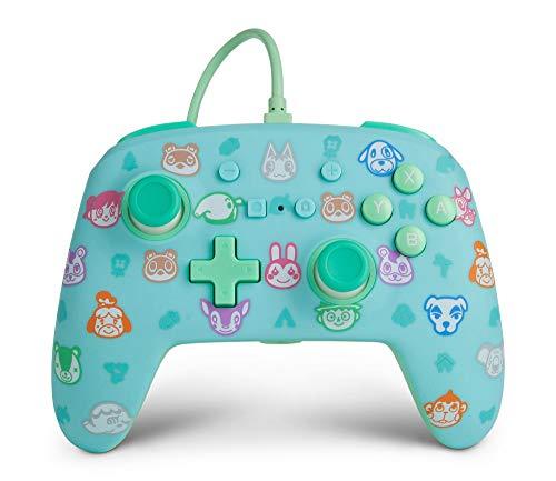PowerA - Mando con cable mejorado para Nintendo Switch: Animal Crossing