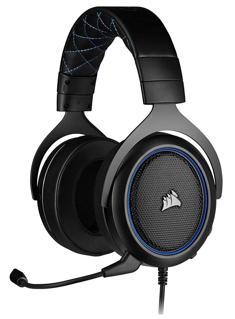 Auriculares Gaming Corsair HS50 Pro Stereo azul