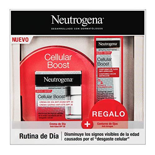 Neutrogena Cellular Boost Antiedad Pack con Crema de Día y Contorno de ojo