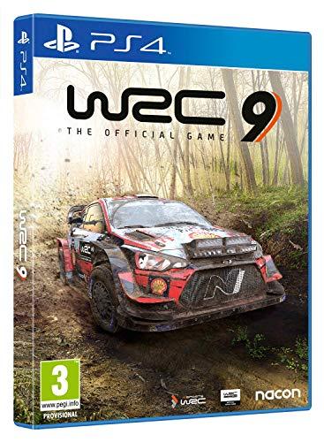 WRC 9 para PS4 desde Amazon España.