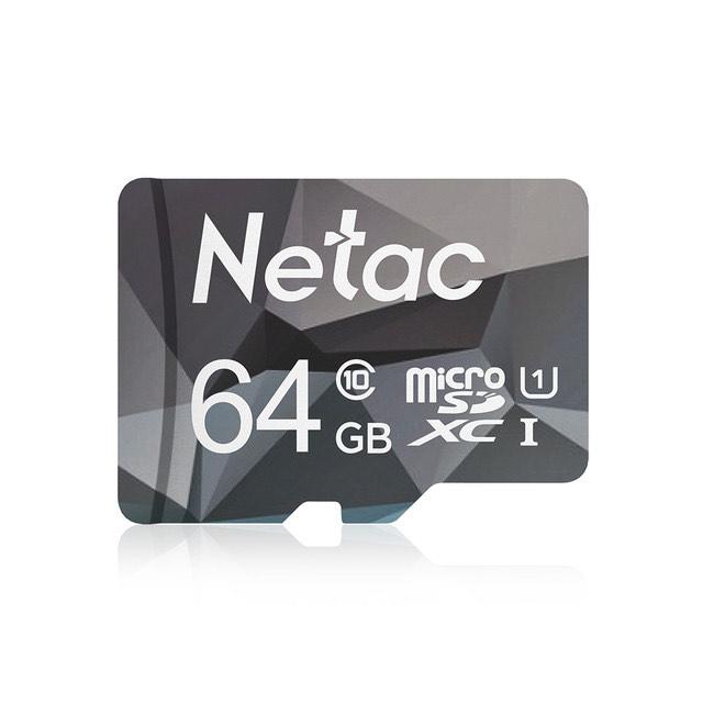 MicroSD Netac de 64GB - 1.08€ para nuevos usuarios - 3,72€ para todos