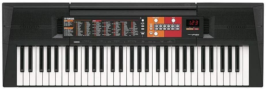 Yamaha PSR-F51 - Teclado digital portátil para principiantes o estudiantes