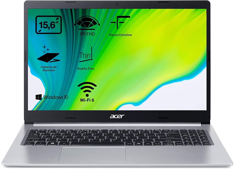"Portátil Acer i5-1035G1, 16GB, 256GB 15.6"" FullHD"