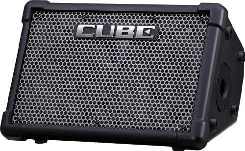 BOSS Cube Street EX - Amplificador de guitarra, color negro