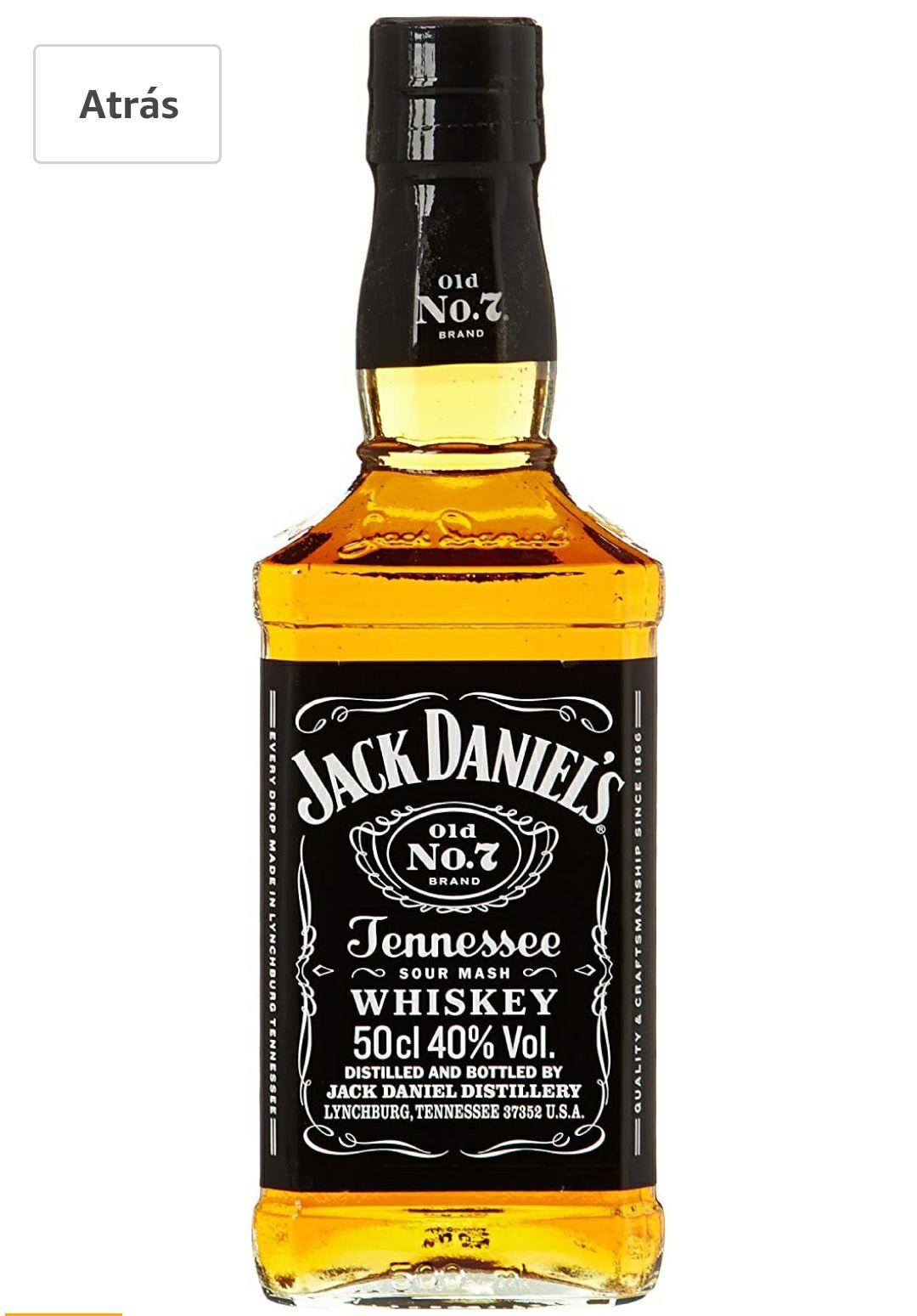 Jack Daniel's Tennessee Whisky 0,5L Vidrio