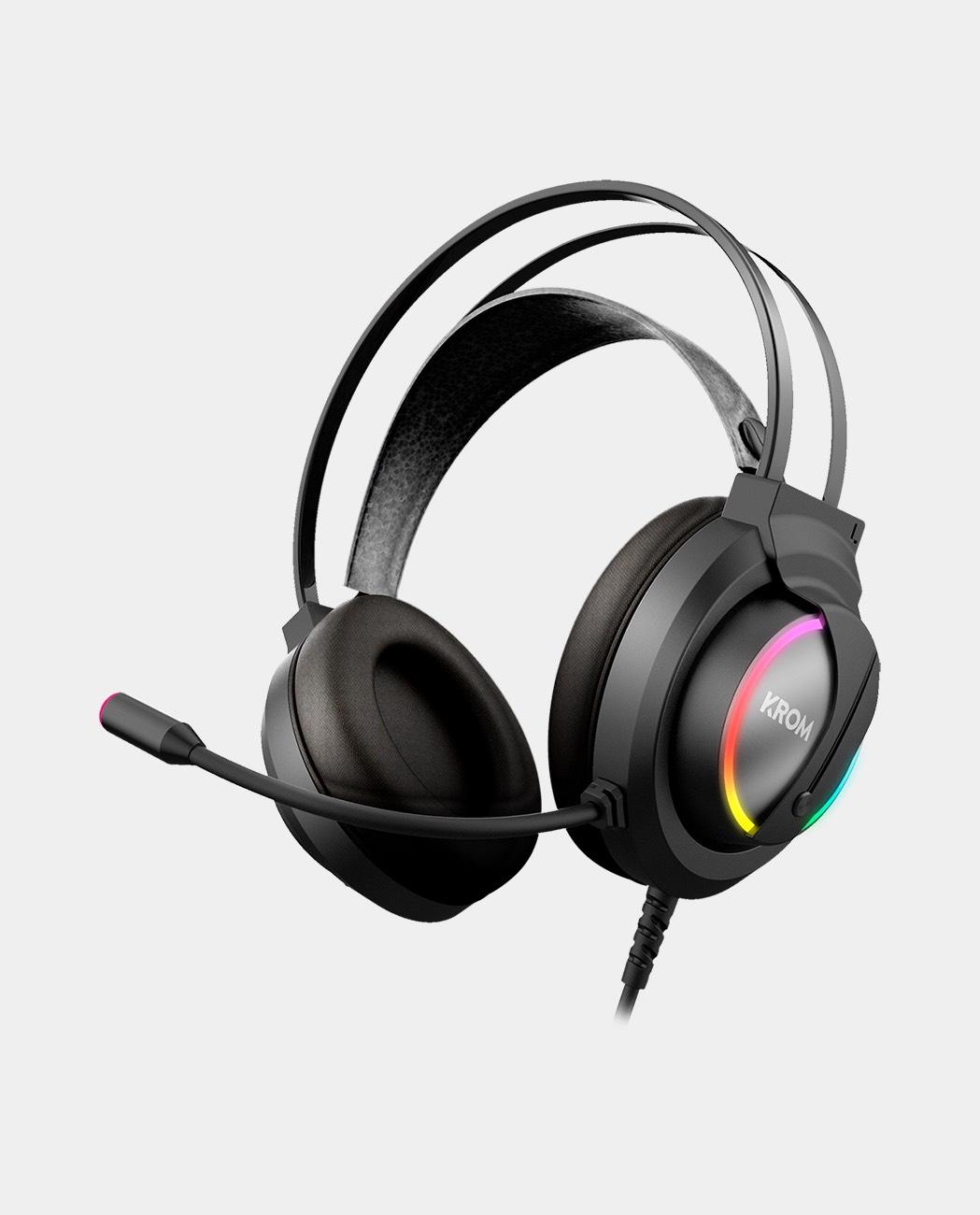 Krom Kappa - Headset ligero RGB drivers 50mm