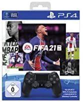 Sony Playstation Dual Shock Negro + FIFA 21