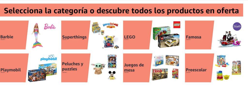 Hasta un 40% de descuento en juguetes en Amazon