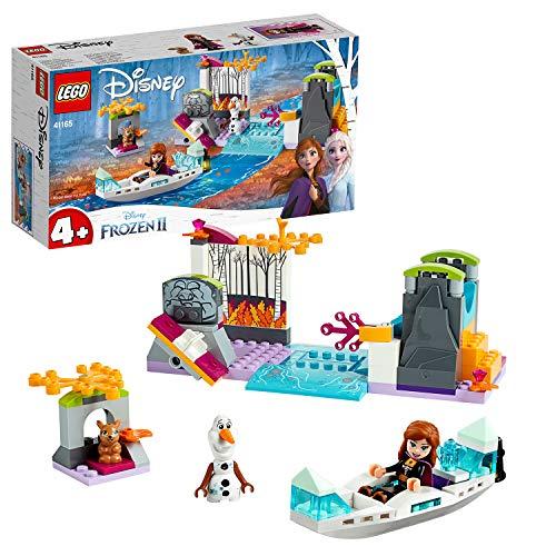 Lego Disney princesas, expedición canoa de Anna