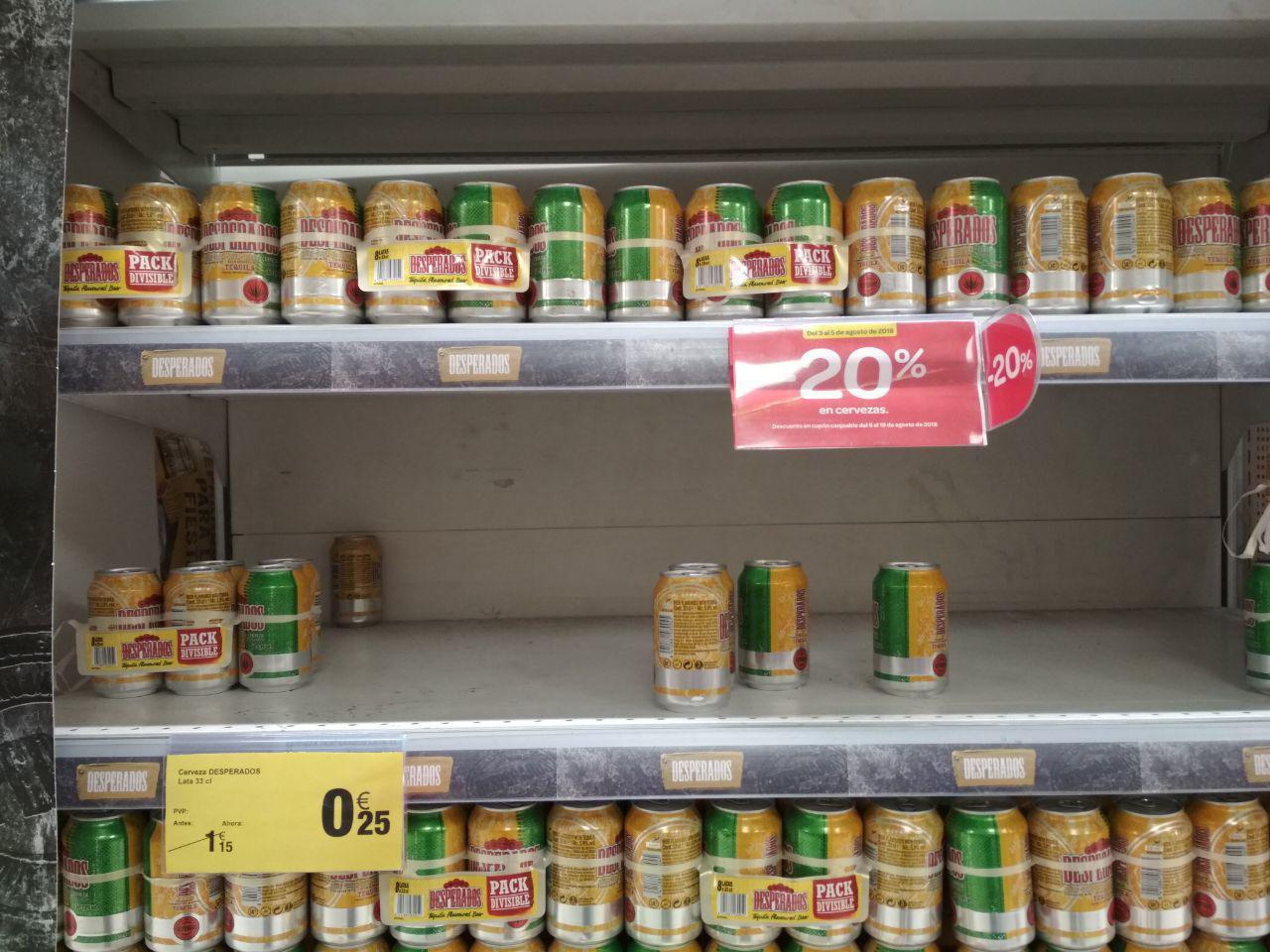 Cerveza Desperados Lata 33cl en Carrefour