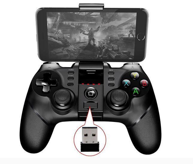 Gamepad IPEGA 9076 3 en 1 Bluetooth Joystick 2.4G para IOS ANDROID + PC!