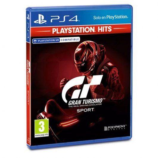 Gran Turismo Sport PlayStation Hits PS4 (posibles gastos gratis con recogida en tienda)