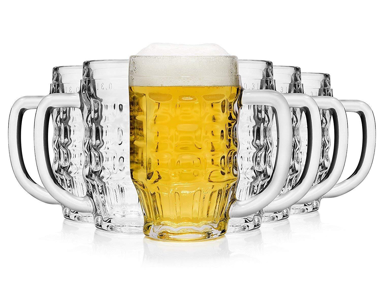 Pack de 6 Jarras de Cerveza