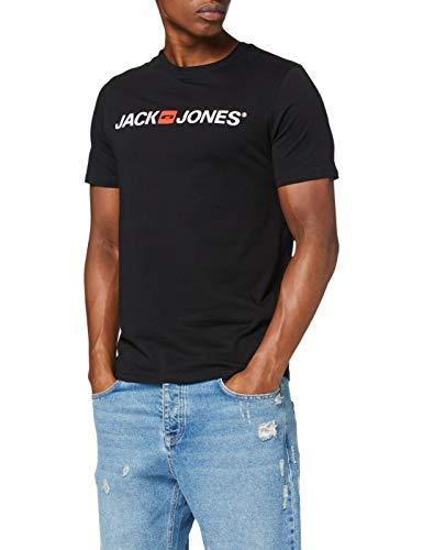 Típica y clásica camiseta negra con logo de Jack & Jones