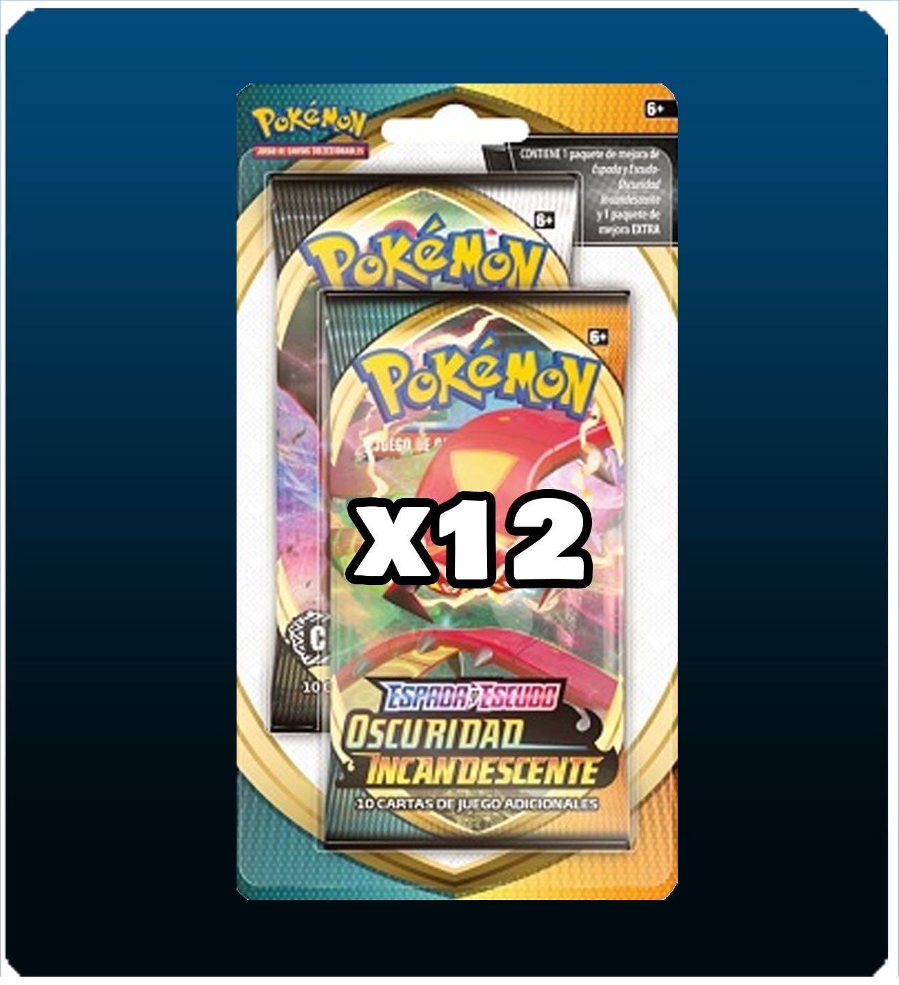 Pack 24 sobres Pokemon TCG 2 expansiones