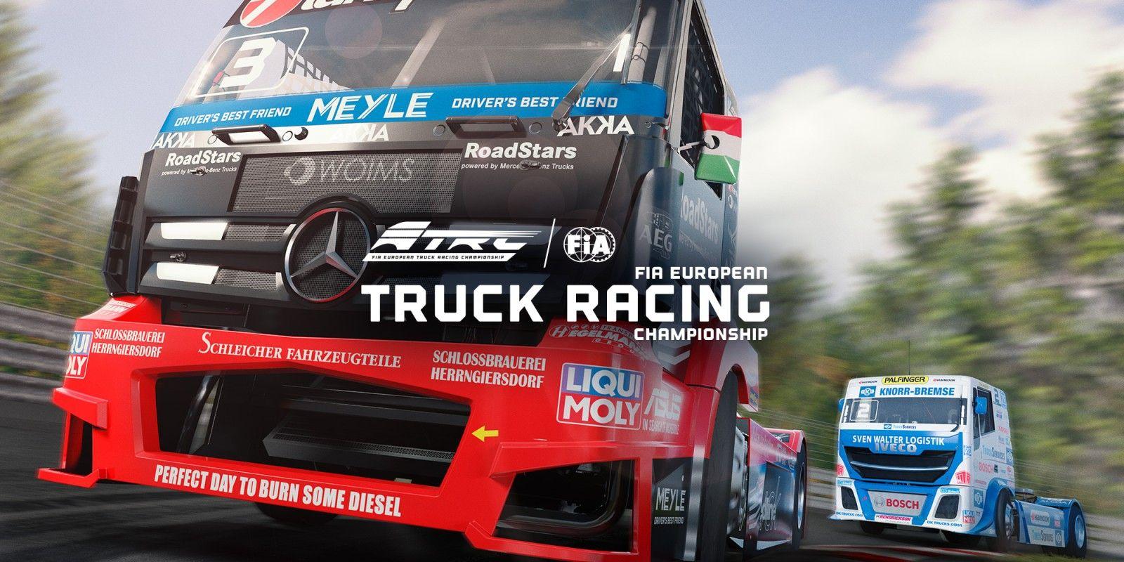 FIA European Truck Racing Championship (Nintendo Switch Eshop Rus)