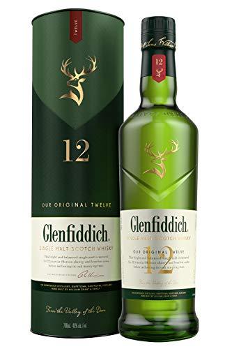 Glenfiddich single malt 12 años - 700 ml (MÍNIMO HISTÓRICO)