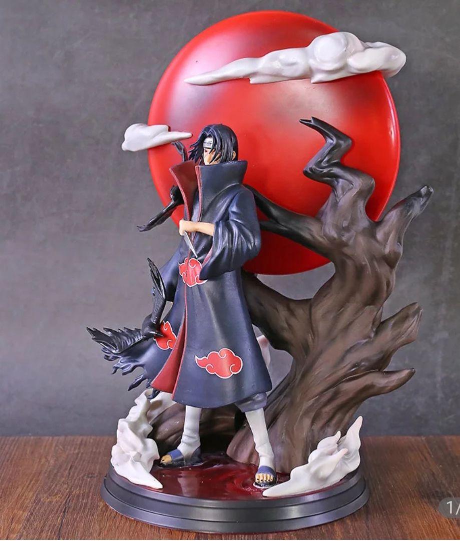 Figura de Naruto, estatua de PVC de Uchiha Itachi Tsukuyomi