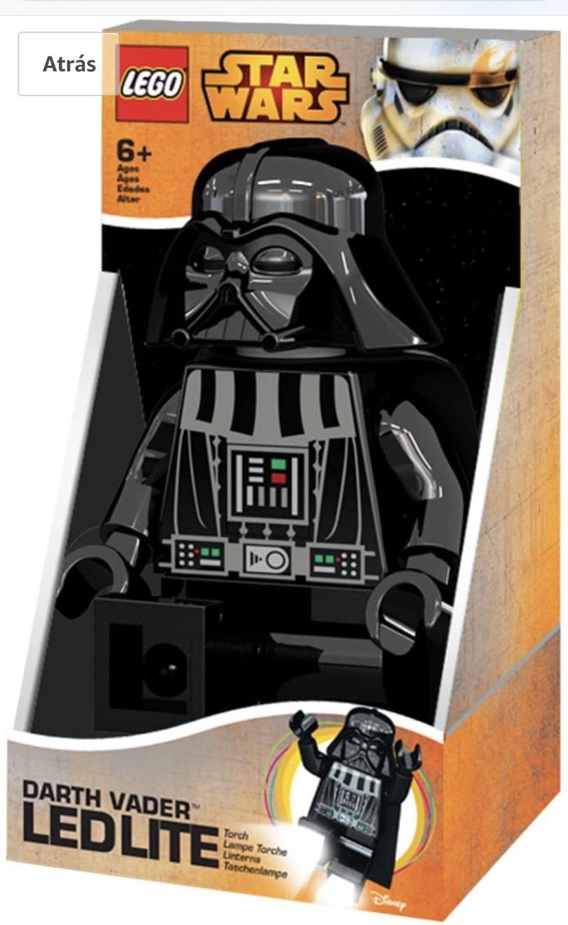 LEGO STAR WARS - Linterna Ledlite con diseño de Darth Vader,