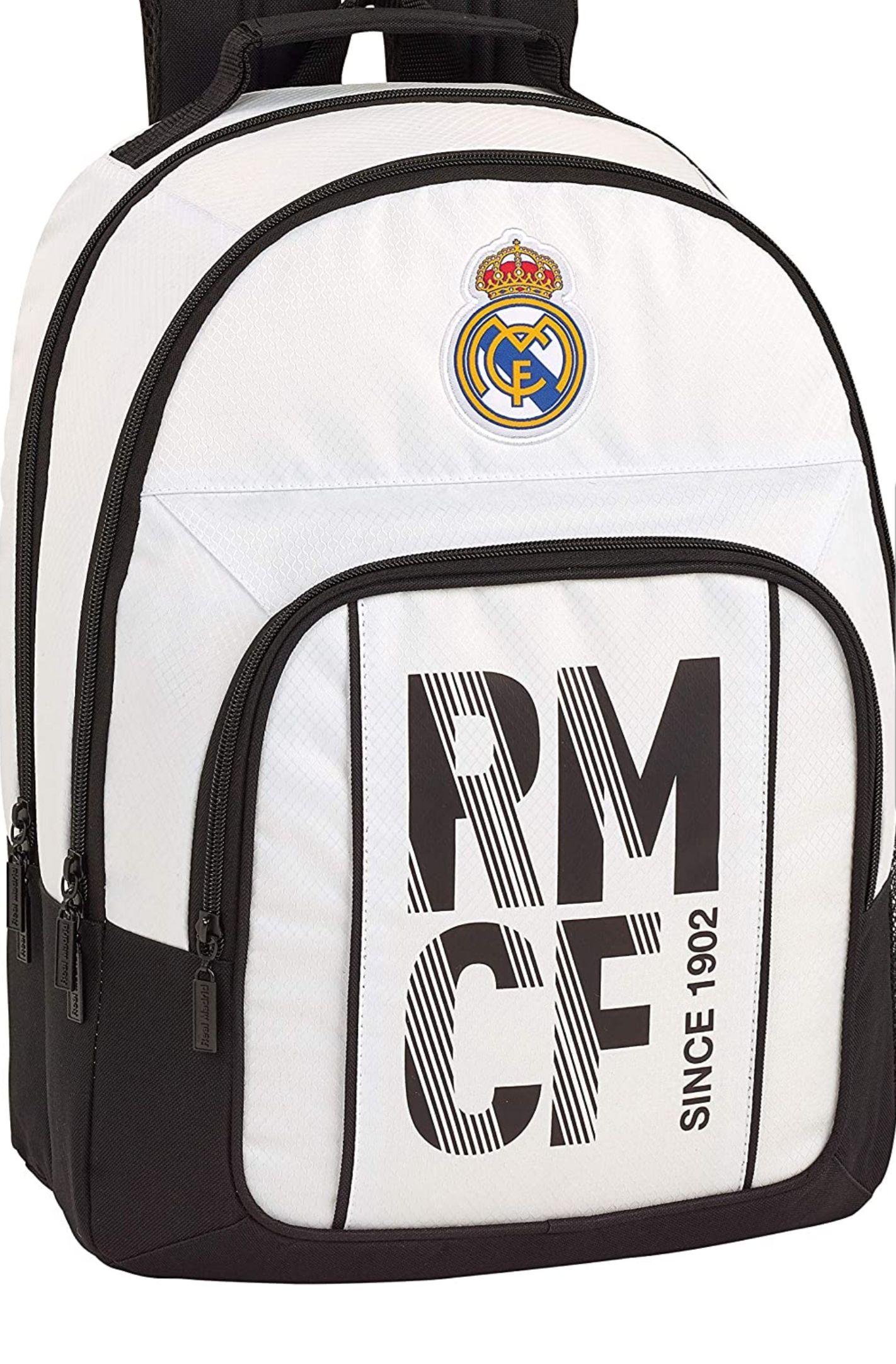 Real Madrid CF Equipaje para niños Mochila Grande