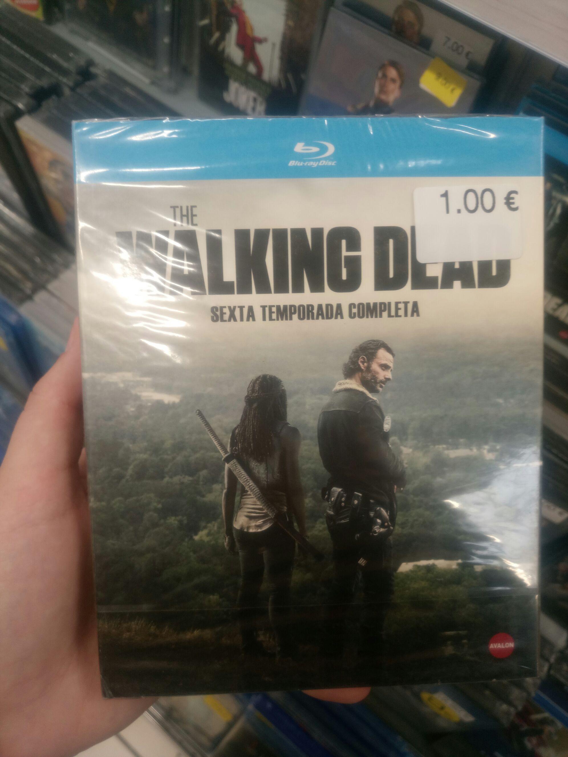 The Walking Dead, Temporada 6 Completa en Blu-ray, CARREFOUR MONTEQUINTO (SEVILLA)