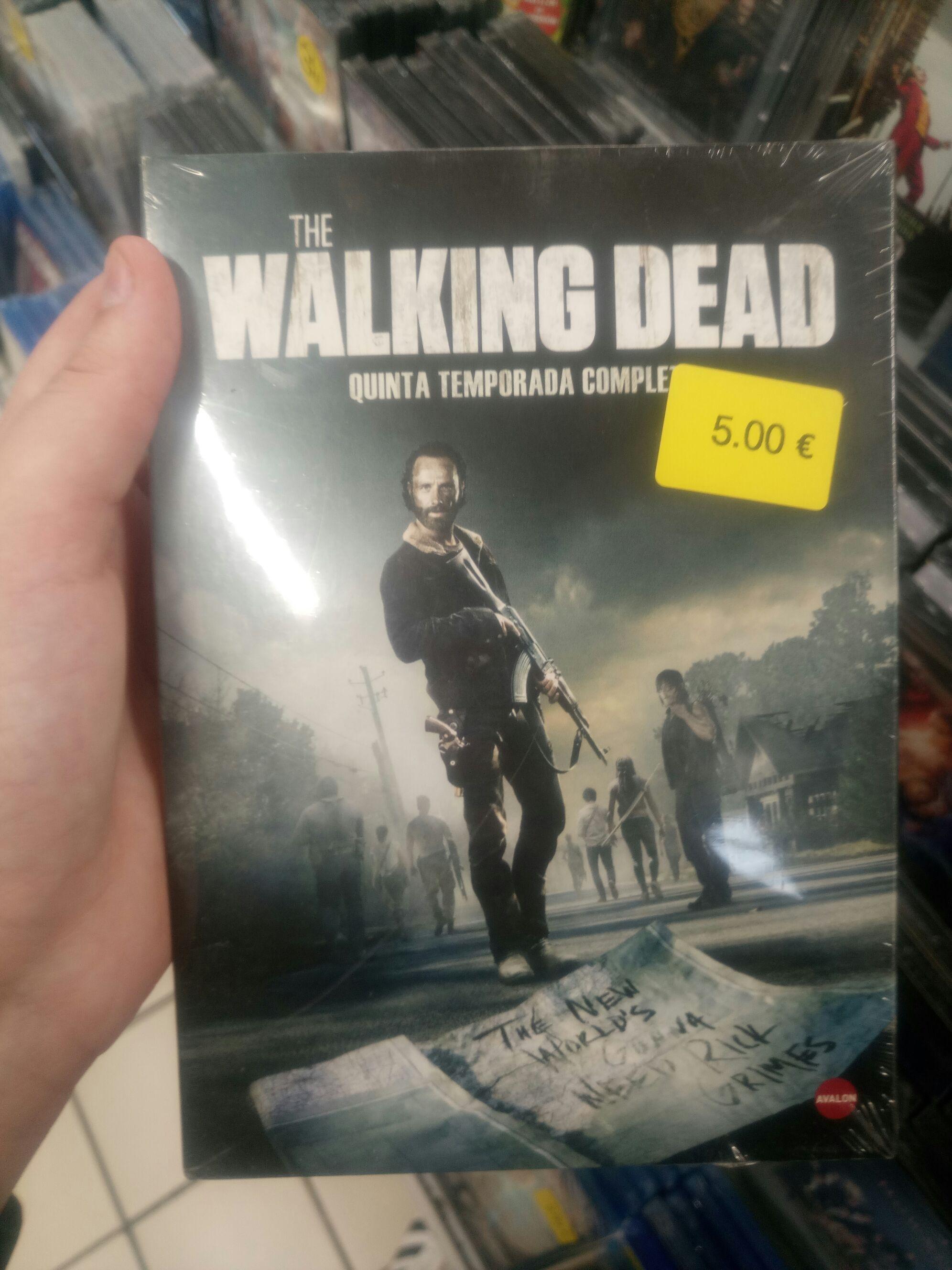 The Walking Dead, Temporada 5 Completa en DVD, CARREFOUR MONTEQUINTO (SEVILLA)