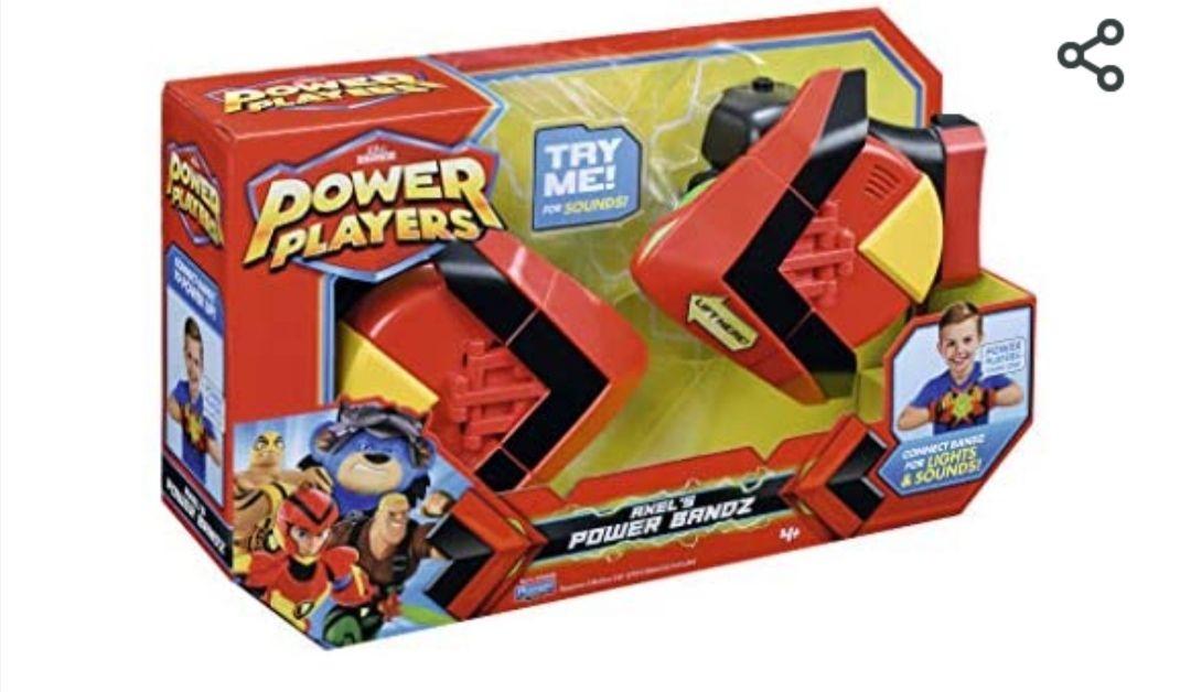 Figuras de acción Famosa- Power Bandz Electrónico con Luces y Sonido