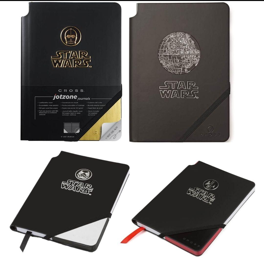 Chollazo! Cuadernos Star Wars Premium A5 con acabado en Cuero - Pack de 4