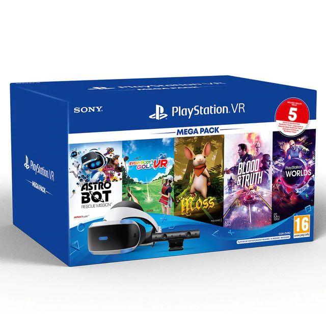 SONY Gafas PlayStation VR MK5 + VR Mega3 VCH/VR World VCH