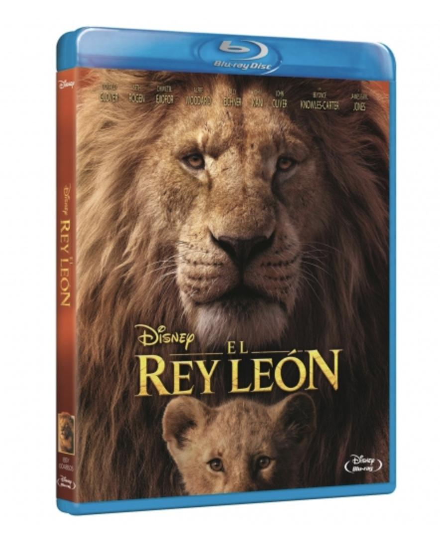 El Rey León Live Action - BR y DvD - NO es oferta gancho