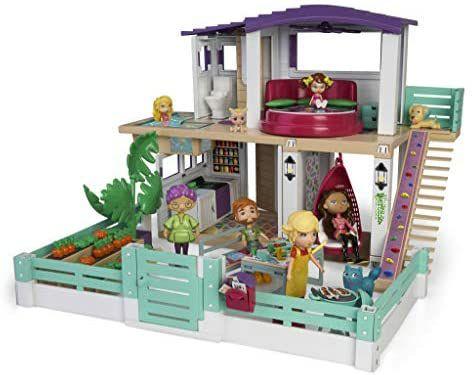 Mymy City- Holiday House, Casita de muñecas amueblada