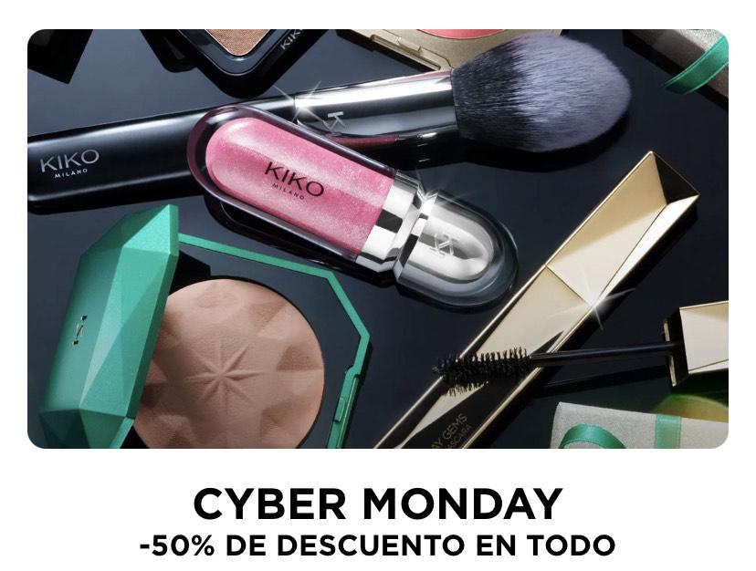 50% en Kiko Milano por Cyber Monday (sólo hoy)
