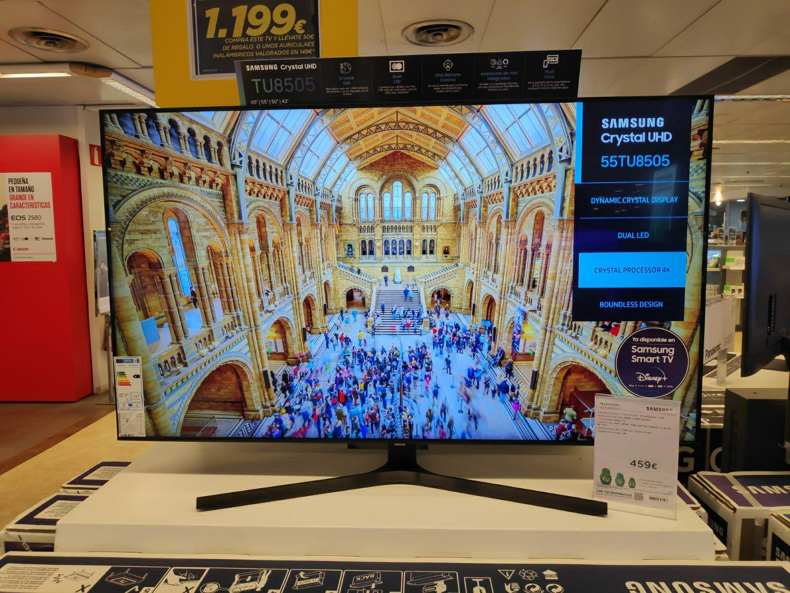 "TV Samsung 55TU8505 55"""