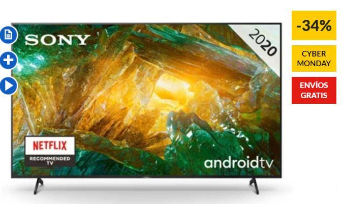 """TV Sony 55"""" Modelo KD-55XH8096"""