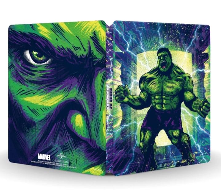 Hulk (2003) 4K + Blu-ray 2D - Steelbook Ed. Limitada Exclusivo