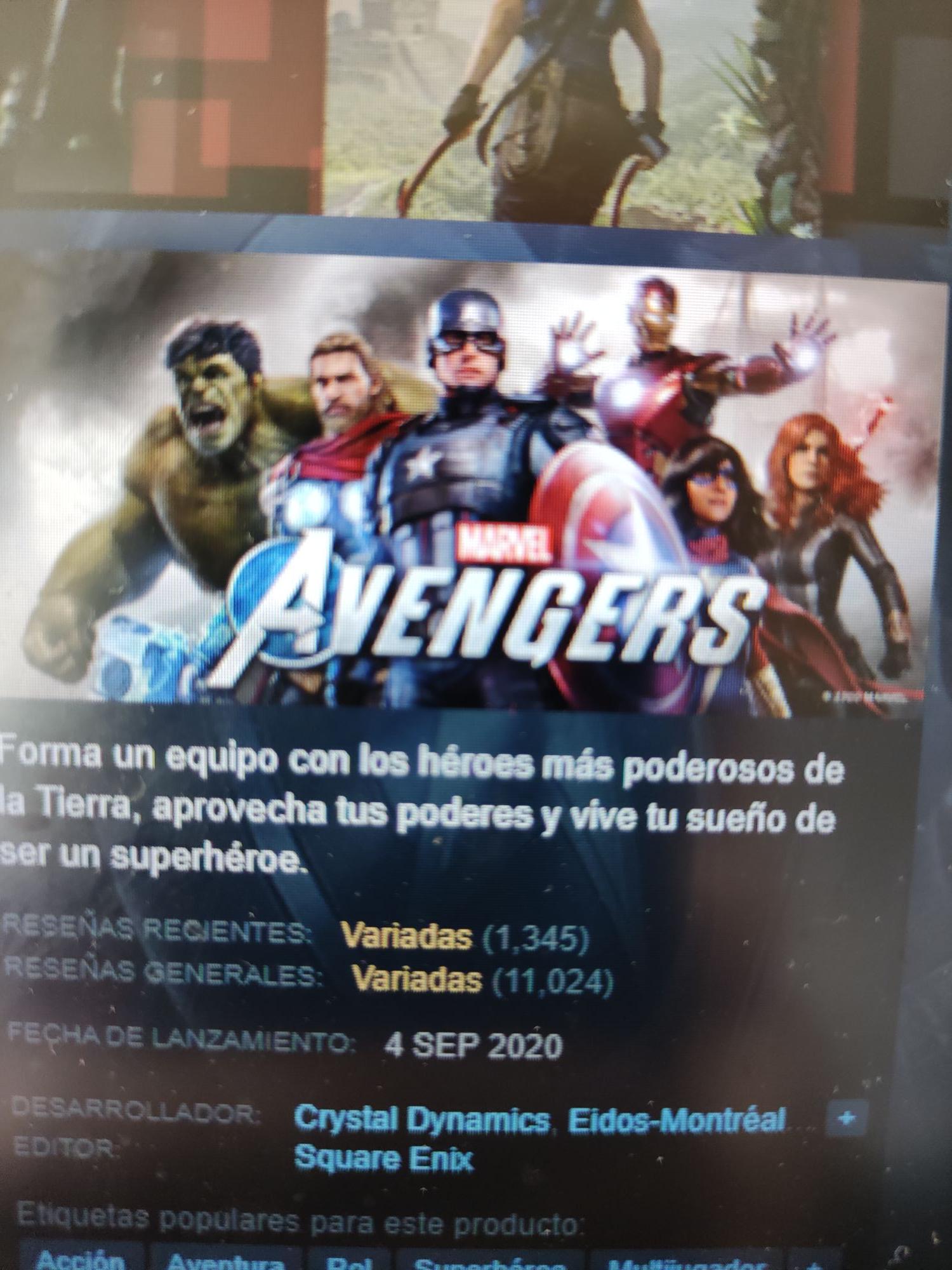 Marvel Avengers 50% STEAM