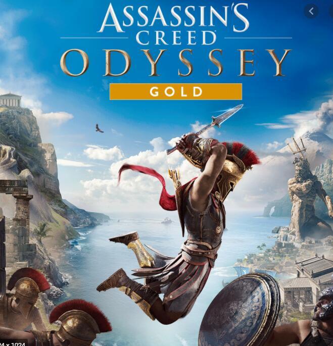 Assassin's Creed Odyssey Gold Edition : juego + Season Pass + AC 3 & AC Liberation Remastered para PS4 VPN BRASIL