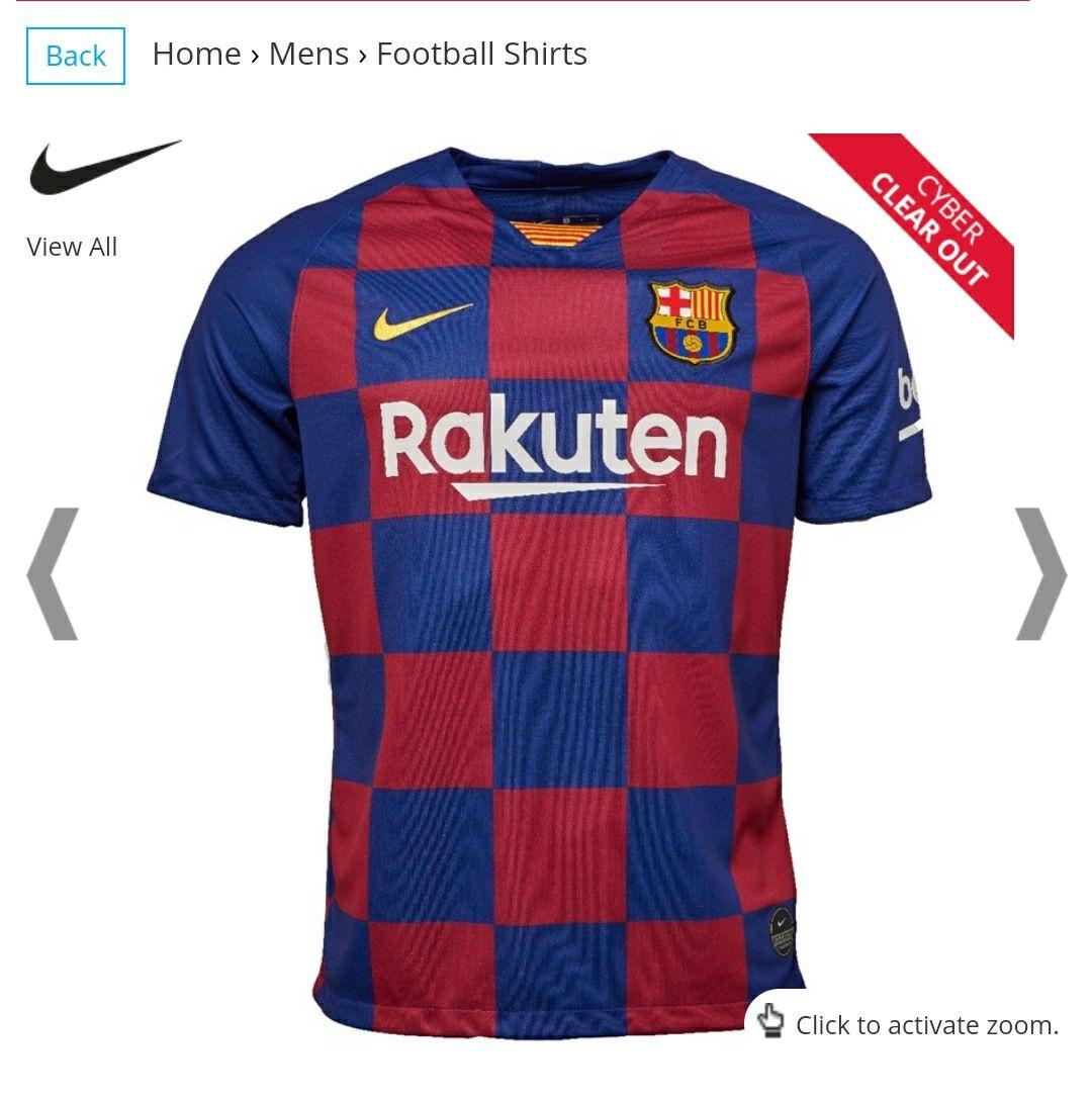 Camiseta Nike Oficial FC Barcelona 19/20