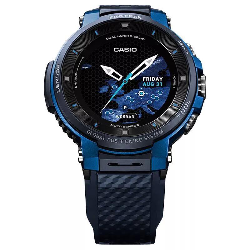 Casio Reloj inteligente Pro Trek F30 (Azul o Negro)