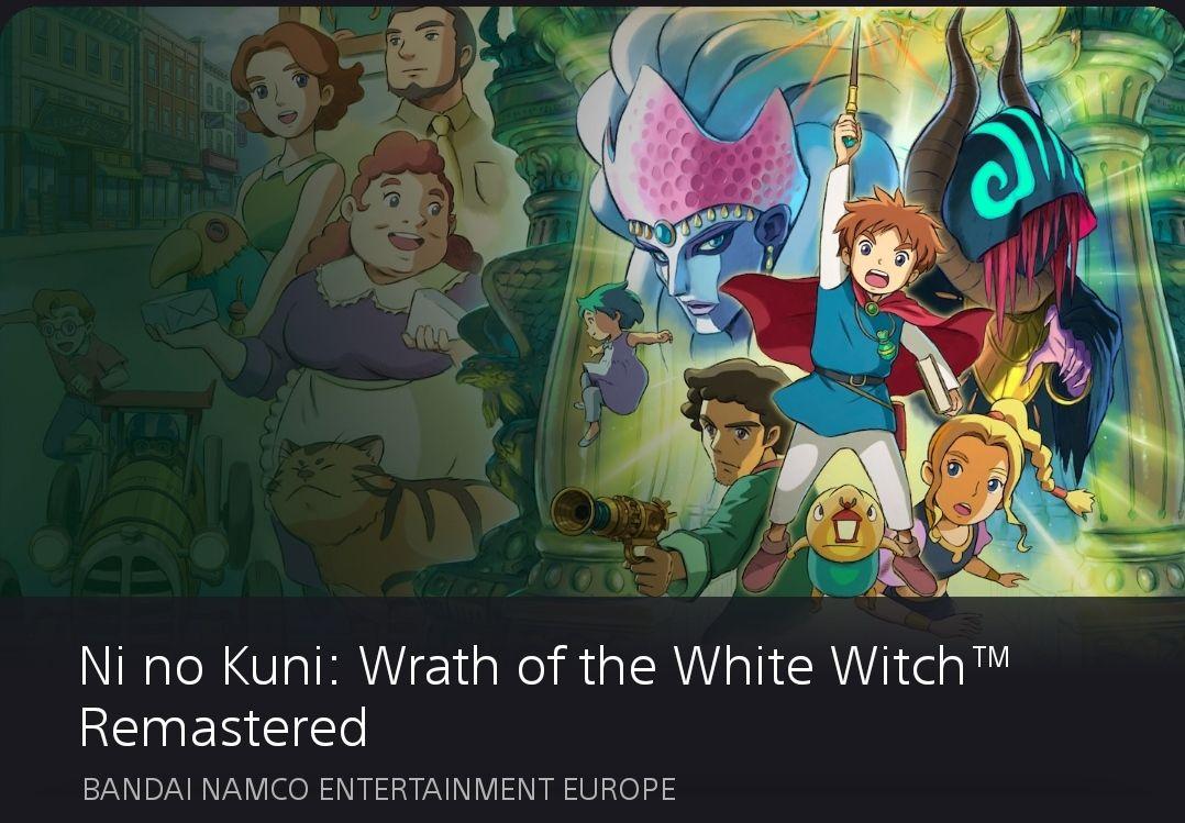 Ni no Kuni 1: Wrath of the White Witch (La Ira de la Bruja Blanca) (PS4 Digital)