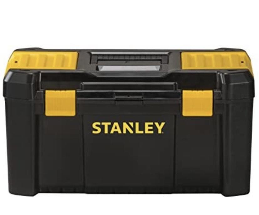 STANLEY Caja de herramientas de plastico con cierres de plastico, 48 x 25 x 24 cm